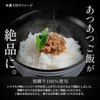 ご飯にかける飛騨牛ハンバ具ー4瓶セット (プレーン)